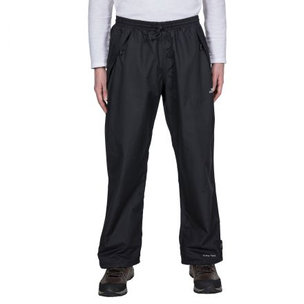 Toliland Men's Waterproof Trousers in Black