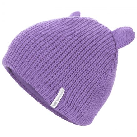 Toot Kids' Novelty Beanie Hat in Light Purple