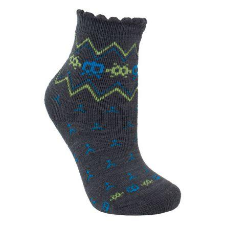 Twitcher Kids' Printed Socks in Grey