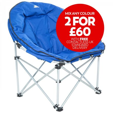 Tycho Padded Camping & Garden Folding Moon Chair