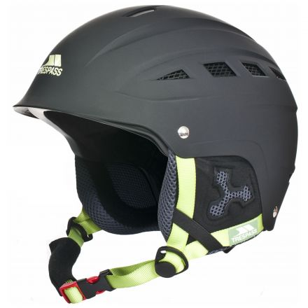 Furillo Adults' Ski Helmet - Black in Black