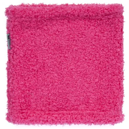 CHINNY Fleece Tube Neck Warmer in Pink