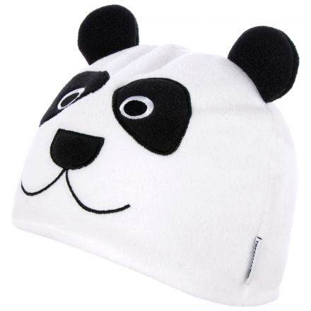 Bamboo Kids' Novelty Beanie Hat  in White