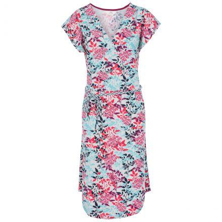 Una Women's Short Sleeve Dress in Pink