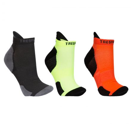 Vandring Adults' Trainer Socks - 3 Pack in Assorted