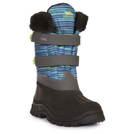 Vause Kids' Printed Snow Boots