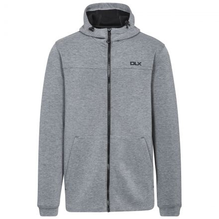 Vega Men's DLX Hoodie in Light Grey
