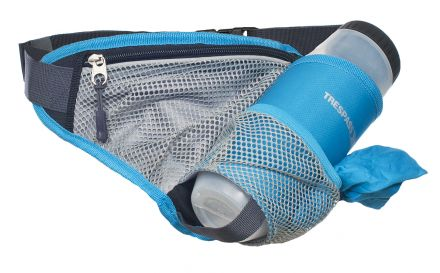 Wadi Blue Bumbag With Bottle & Towel