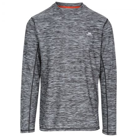 Wentworth Men's Long Sleeve Active T-Shirt in Black