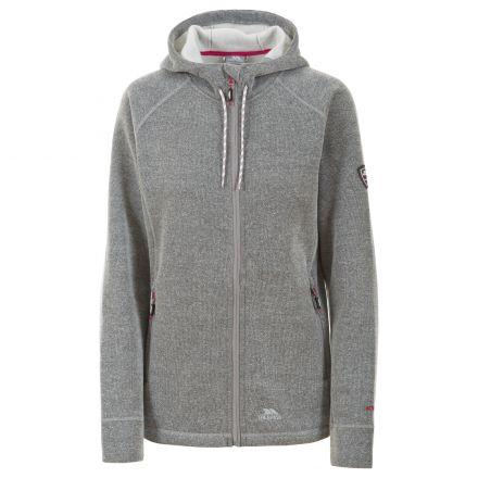 Whirlwind Womens Full Zip Fleece Hooded Jacket