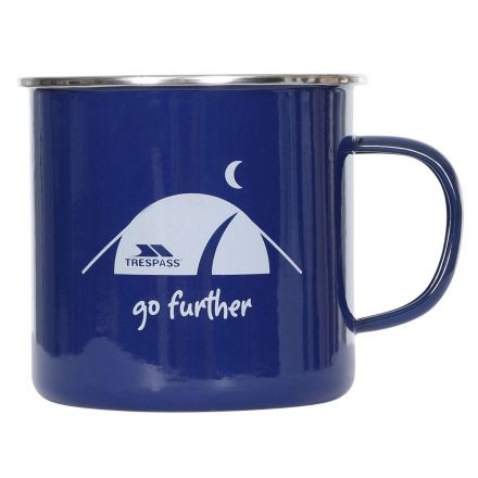 Enamel Camping Mug in Blue