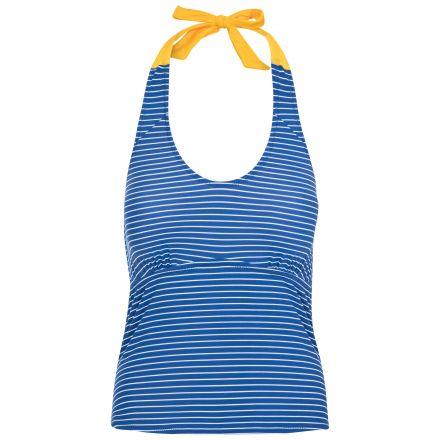 Winona Women's Halterneck Tankini Top in Blue