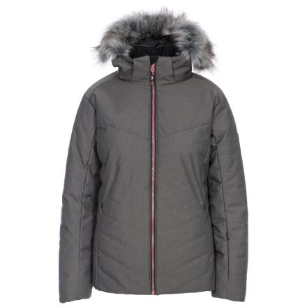 Wisdom Women's Waterproof Ski Jacket in Grey
