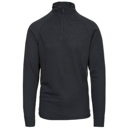 Wise360 Adults' Quick Dry Long Sleeve Thermal Top in Black