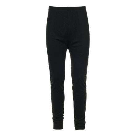 Yomp360 Adults' Thermal Trousers in Black, Front view on mannequin