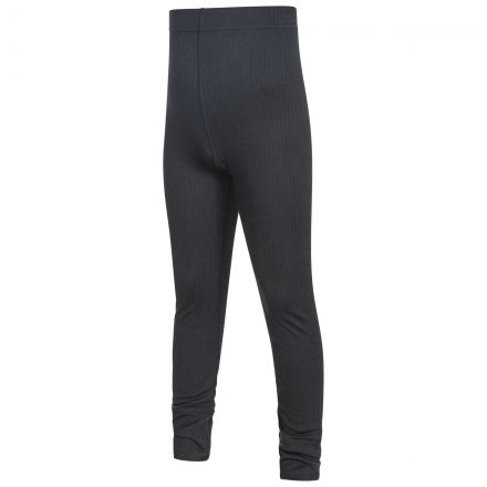Yomp360 Kids' Thermal Bottoms in Black