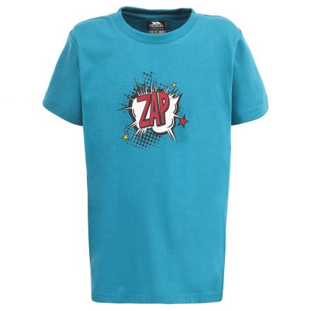 Zap Kids' Casual Printed T-shirt in Blue