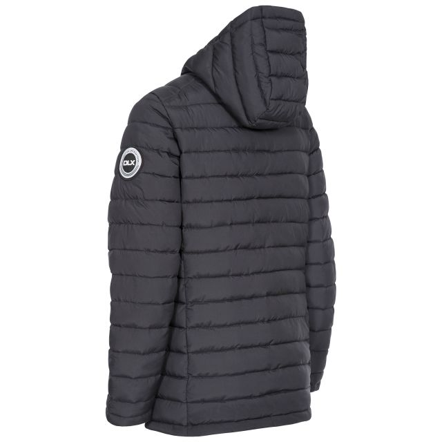 DLX Womens Padded Jacket Eco Friendly Althea in Black