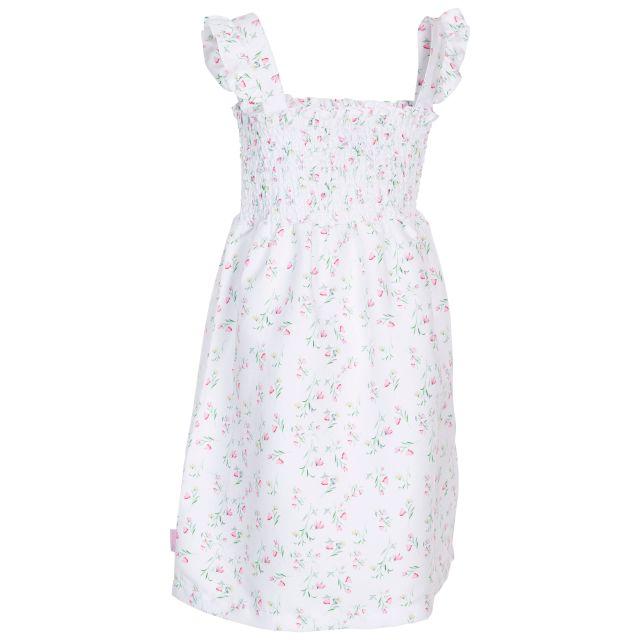 Annlily Kids' Sleeveless Dress White Print