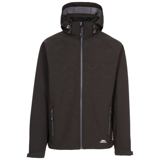 Arli Men's Lightweight Softshell Jacket - BLK