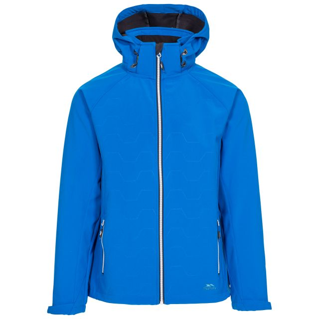Arli Men's Lightweight Softshell Jacket - BLU