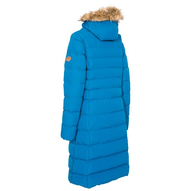 Trespass Womens Padded Jacket Casual Audrey Cosmic Blue