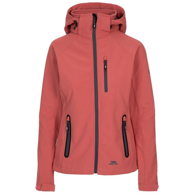 Trespass Women's Softshell Jacket Bela II - RHU