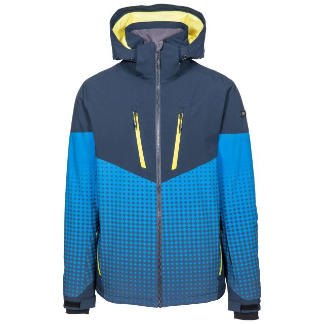 Bert Men's Waterproof Ski Jacket in Navy