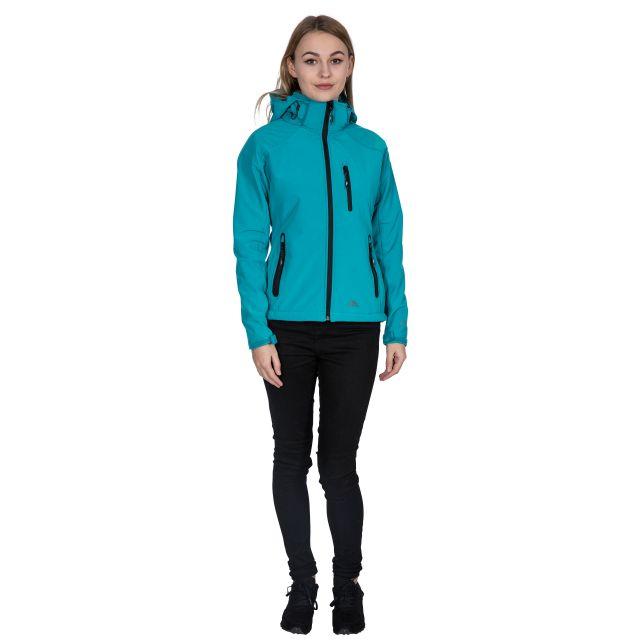 Trespass Womens Softshell Jacket Bela II Marine Blue