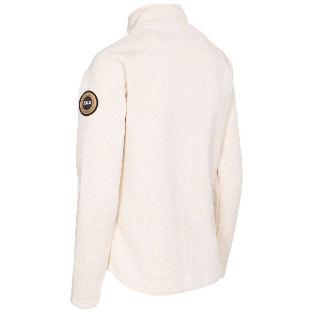 Dawn Women's DLX Fleece Jacket in White Marl