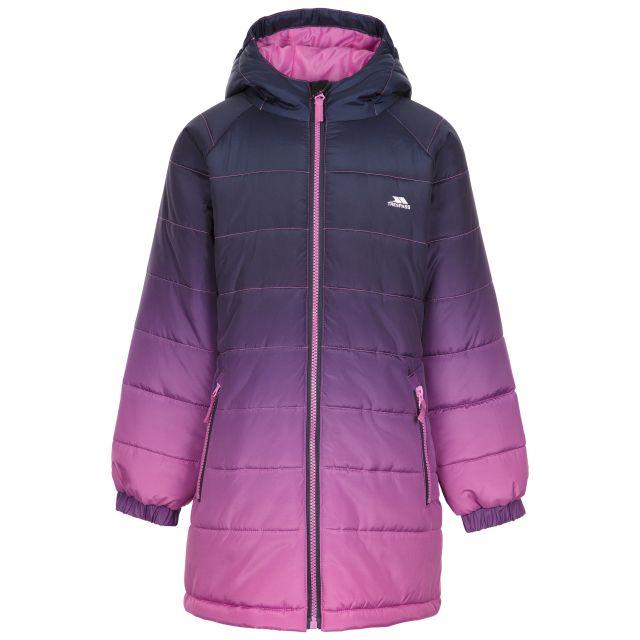 Trespass Kids Casual Jacket in Deep Pink Ombre Destiny