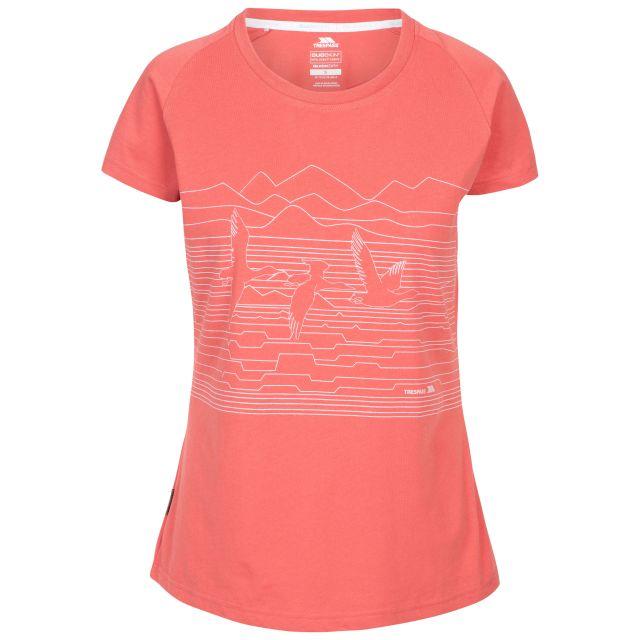 Trespass Women's T-Shirt Dunebug Rhubarb