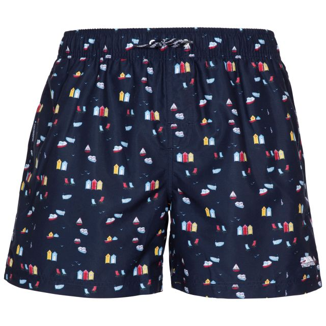 Trespass Men's Swimshorts Eugine Navy Print