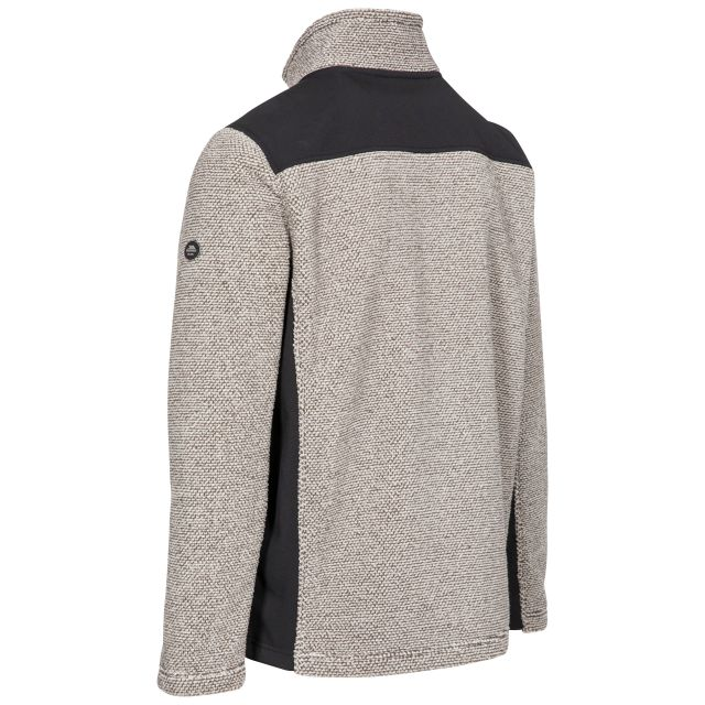 Faratino Men's Knitted Striped Fleece Jacket - TRF
