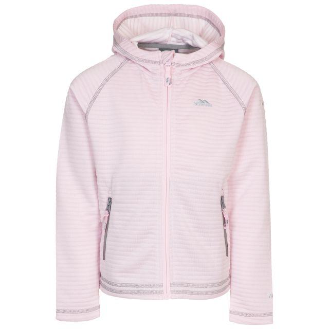 Trespass Kids Fleece Hoodie Fascinated Pale Pink