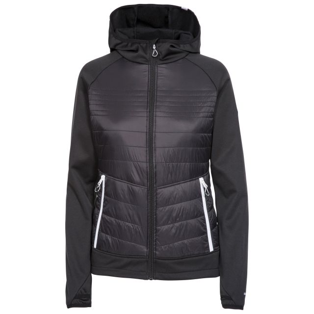 Finito Women's Hooded Fleece in Black