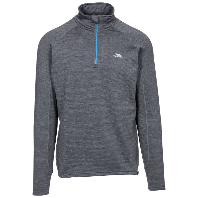 Goodwin Men's Quick Dry Long Sleeve Active Top in Dark Grey