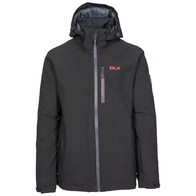 Isaac Men's DLX Ski Jacket with RECCO - BLK