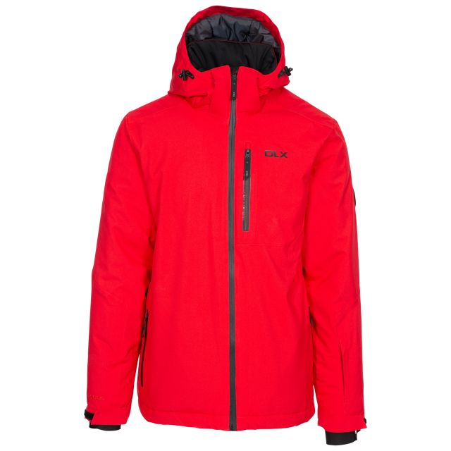 Isaac Men's DLX Ski Jacket with RECCO - RED