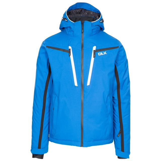 Jared Men's DLX Slim Fit Ski Jacket with RECCO - BLU