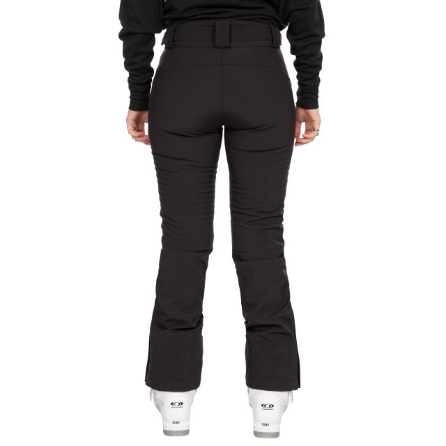 Lois Women's Slim Fit Salopettes with Microfleece Lining in Black