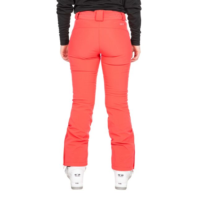 Trespass Womens Salopettes Slim Fit Microfleece Lois in Red
