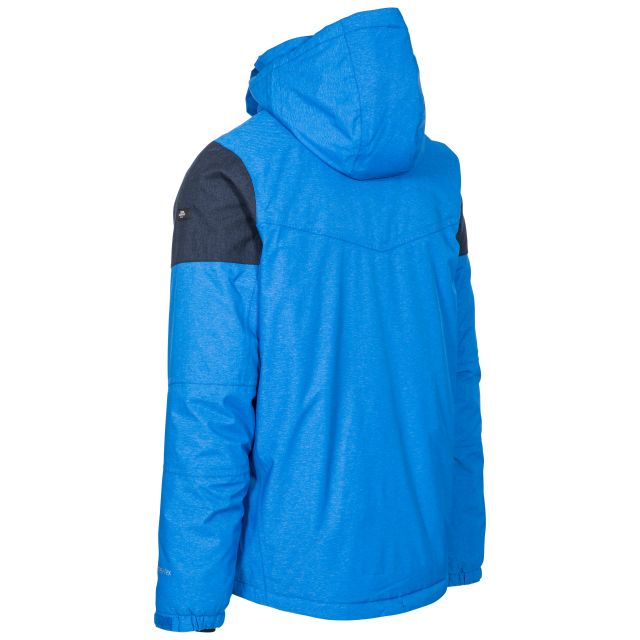 Trespass Mens Ski Jacket Waterproof Windproof Mack Blue