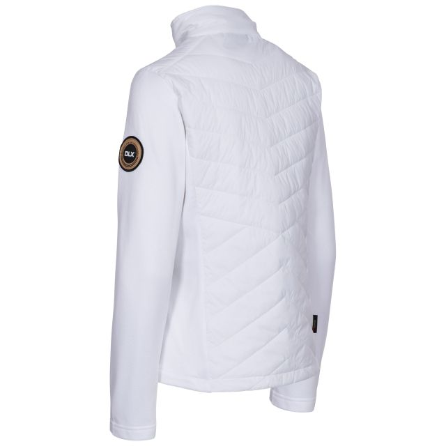 Magda Women's DLX Active Jacket with Padded Body in White