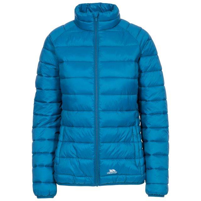 Marlene Women's Casual Padded Jacket in Blue