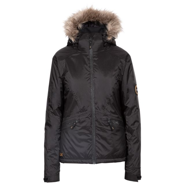 Meredith Women's DLX Ski Jacket with RECCO in Black