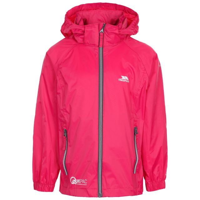 Qikpac Kids Packaway Jacket in Pink