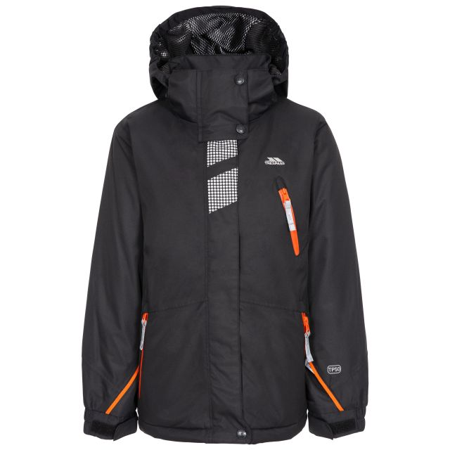 Rare Boy's Padded Waterproof  Ski Jacket in Black