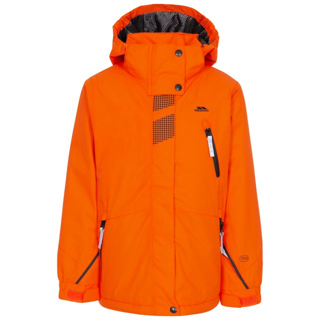 Rare Boy's Padded Waterproof  Ski Jacket in Orange