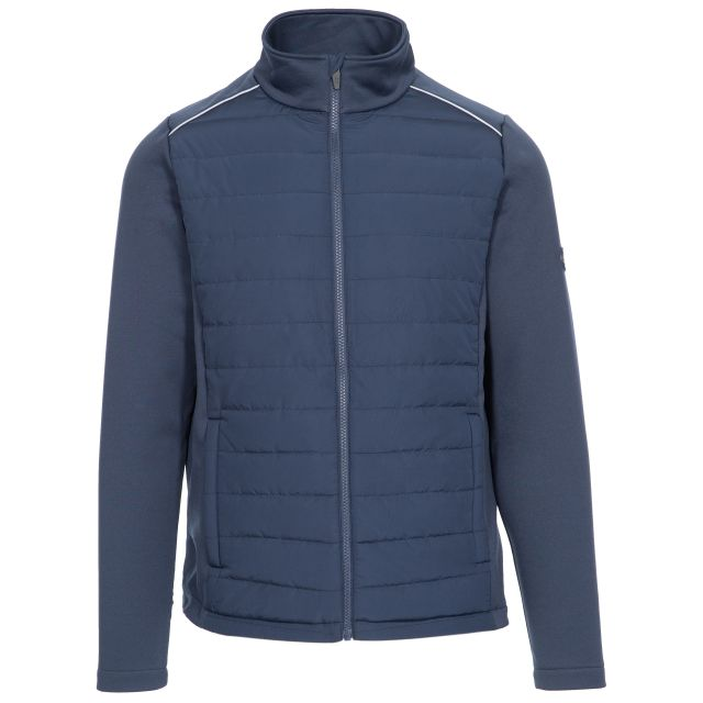 Reid Men's Zip Top with Padded Body in Navy